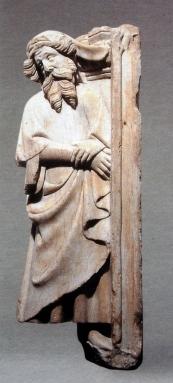 Plorant del panteó reial de Poblet, tercer quart s. XIV, París, Musée du Louvre